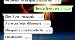 Dichiarazioni d'amore ai tempi di whatsapp